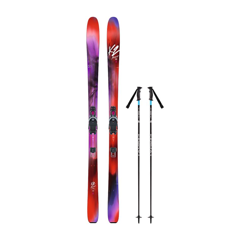 Adult Telemark Skis