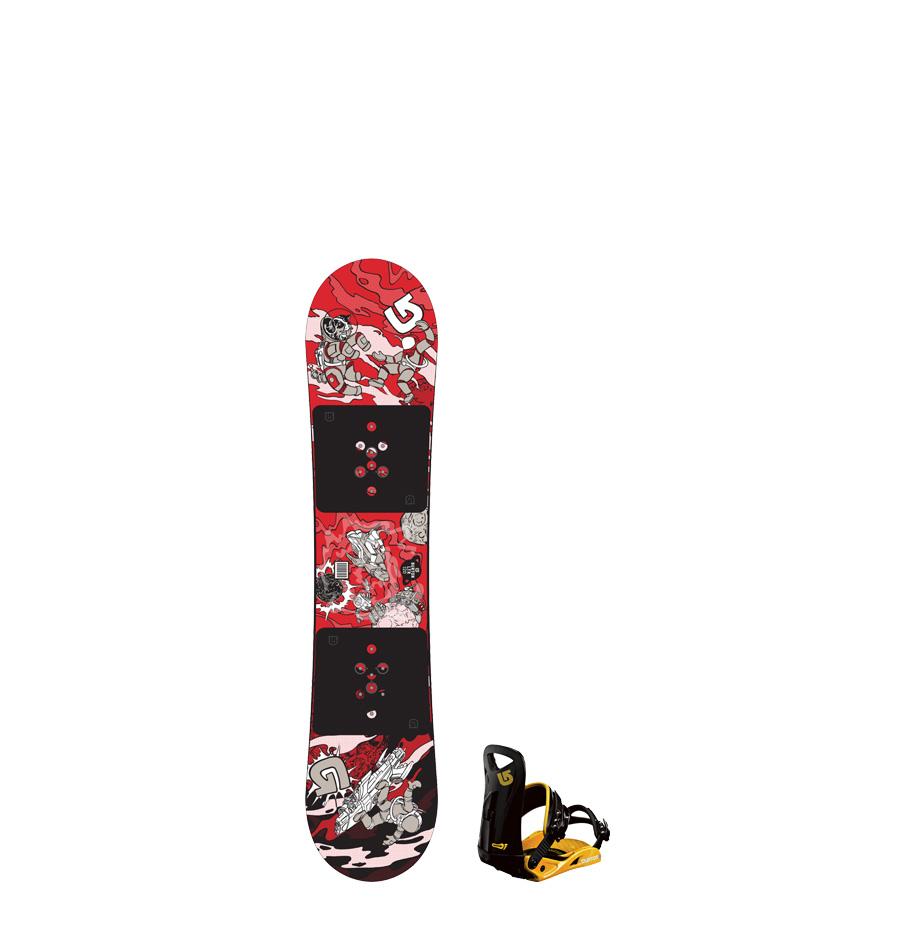 Adolescent Snowboard (12 – 15 yrs)