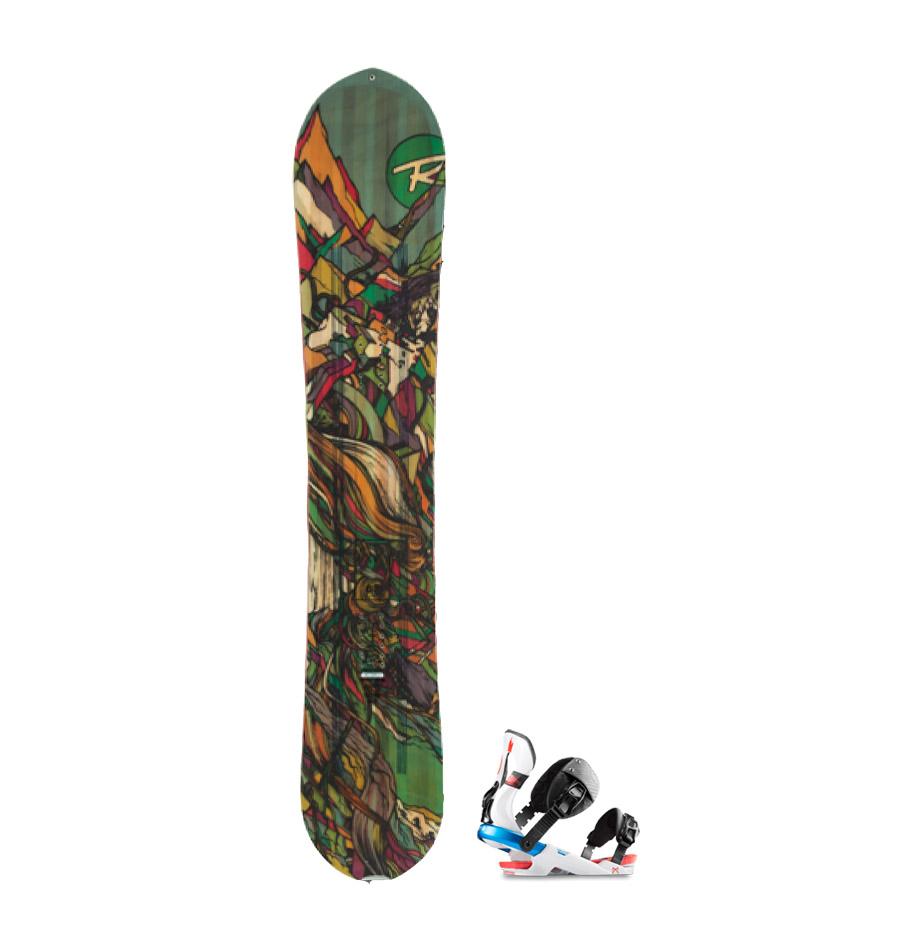 Adult Expert Freeride Snowboard